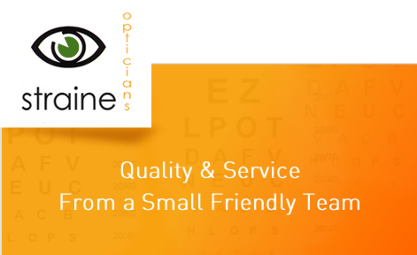 D.Straine Opticians Logo